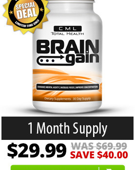 Brain Gain Supplement Review