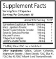 Marathon Man Maca 1000 Supplement Facts