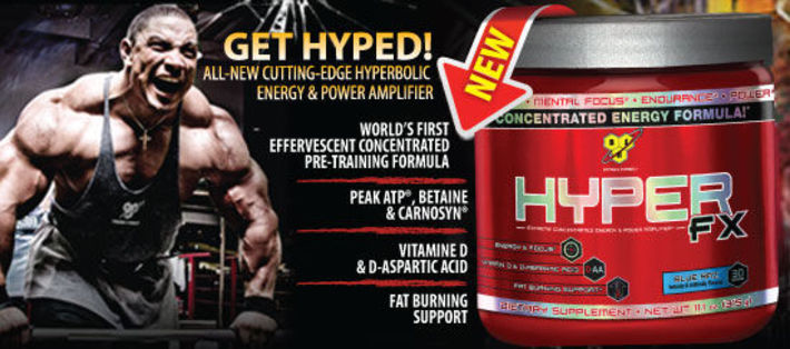 BSN Hyper FX Supplement Review