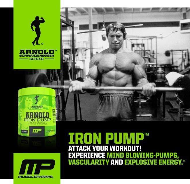 Musclepharm Arnold Iron CRE3 Supplement Review