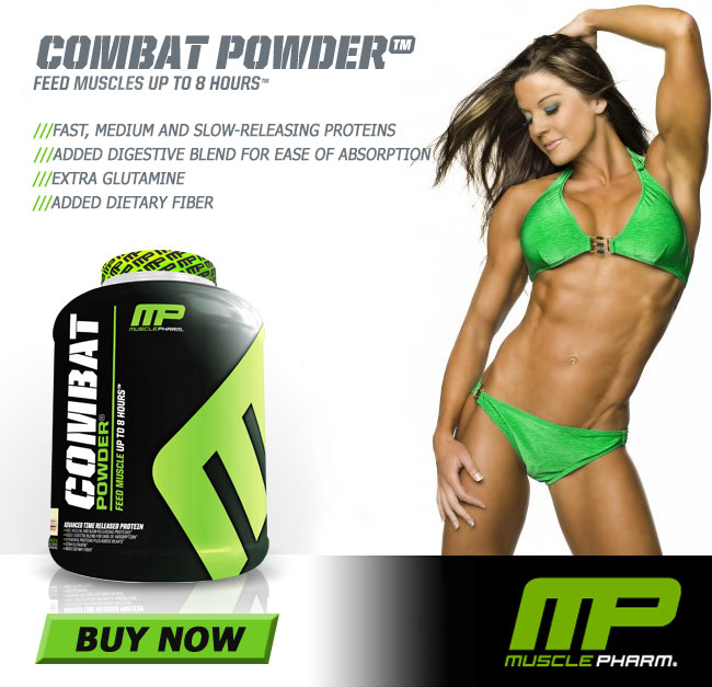 Musclepharm Combat Powder Supplement Review