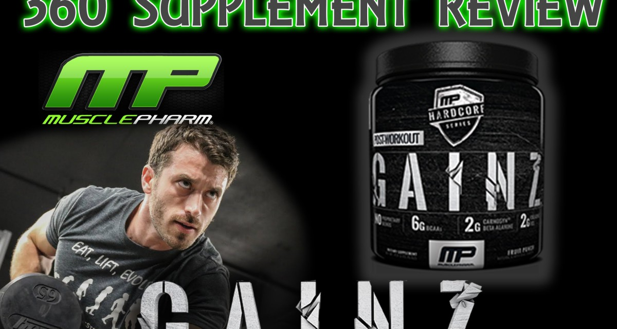 Musclepharm Hardcore Series Gainz Supplement Review