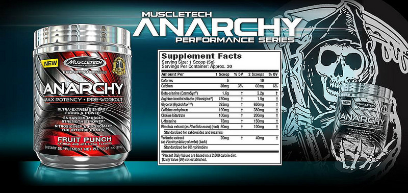 Muscletech Anarchy Supplement Review