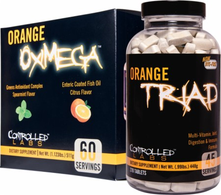 Orange Triad Controlled Labs Supplement Review
