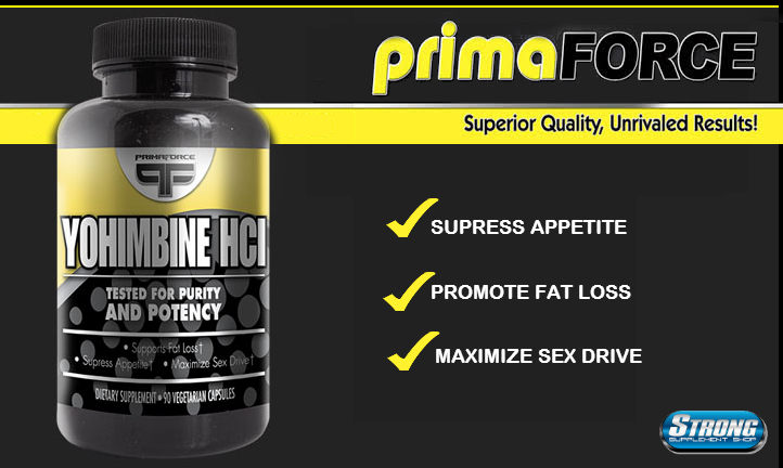 Primaforce Yohimbine HCL Supplement Review