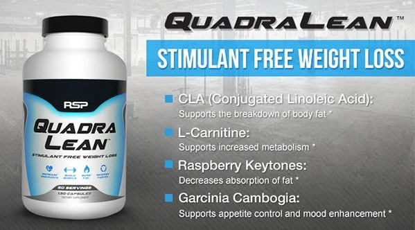 RSP Nutrition Quadralean Supplement Review