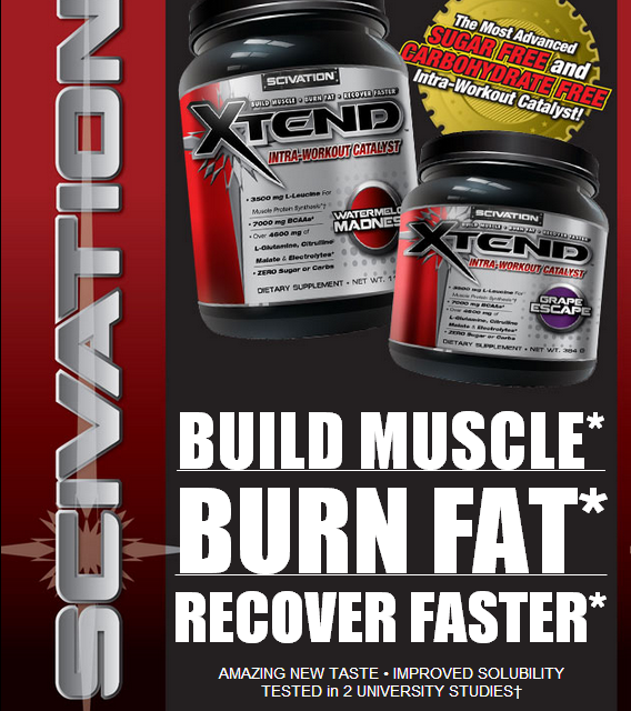 Scivation Xtend Supplement Review